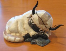 Sleepy Appa Sculpture by Kulik