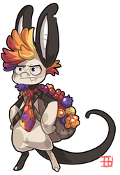 #1396 Tribal BB - Berry Master by griffsnuff
