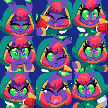 The Many Faces of Nova by The-Knick