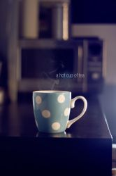 a hot cup of tea by Hajdarevic