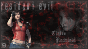 Resident Evil : Claire Redfield Wallpaper by RogueVincent