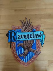 Ravenclaw emblem/shield from Harry Potter by MagicPearls