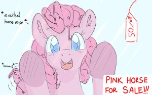 Bonus request : Pinkie Pie. by PeriodicBrony