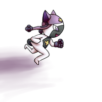 Look at me run~! by HoneyShuckle