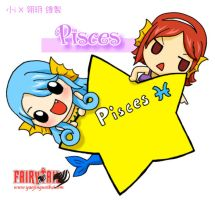 Pisces ,fairy tail by icecream80810