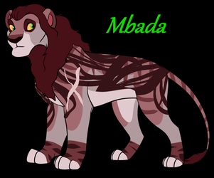 Mbada New Right paw Lion by nazow