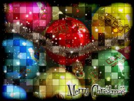 Wallpaper Christmas by Hermionina