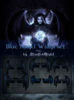 Blue Wings Sets 5 By Starscoldnight Copia by StarsColdNight