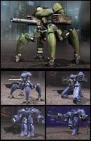 Battle Mechs 2 by Nordenx