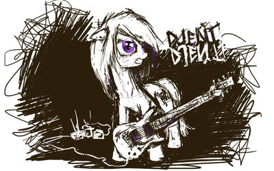 Djent pony by 2chpencil