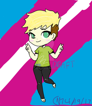 Chibi Nathan *DRAFT* by EdwardElric8279