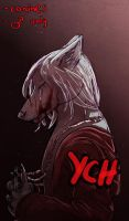 [Closed] YCH - Bloody Regret by EmolaWolf