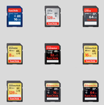 Sandisk SD Card Icons by MegaBurger187