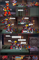 MMX:U49 - S1Ch17: Chain Vengefulness (Page 8) by IrregularSaturn