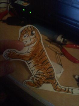 Paperchild-Tiger by wildmage007