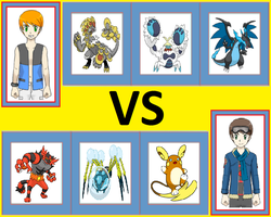 Pokemon Battle: Will vs Matt