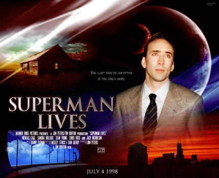Burton-Cage's SUPERMAN LIVES by childlogiclabs