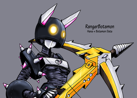 Digimon World MV: RangerBotamon by Midnitez-REMIX