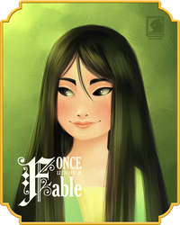 ONCE UPON A FABLE: Mulan by BASTAFUNK