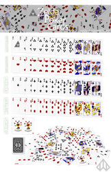 Zelda Poker Card Set by Nelde