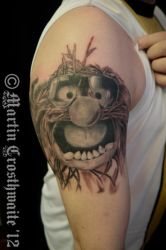 Animal Muppet Tattoo by mxw8