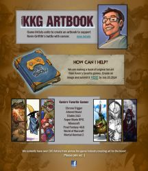 KKG Artbook by Dreamspirit