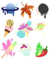 [CLOSED] Cutie mark adopts auction Points or PP by LunnaDeLuna