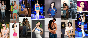 Katy Perry Collage by TomIannucci