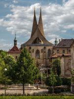 Emmaus Monastery in Prague by pingallery