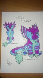 .:Prompt:.  Tiko toy doll by rainbowthedragon