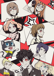 Persona 5 by Kell0x