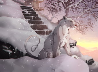 Stay and make it a home by Grypwolf