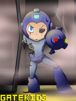 Megaman-Game Over by gatekid3