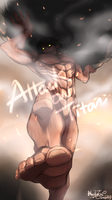 Attack On Titan - Fight! by blackteakimi