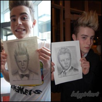 Meeting Jedward by babygirlsart