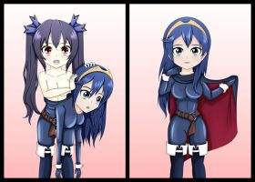 COM: Noire to Lucina by Vanron