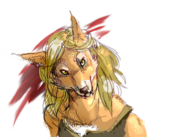 Worgen Lady by Whiksers