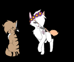 Ruinflame and Eaglepaw by TheCarterpillar