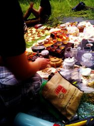 Tea Ceremony in the Woods by Nevadda