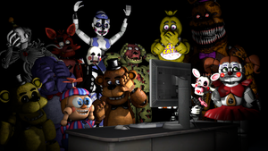 Five Nights at Freddy's and the internet by bryancortes