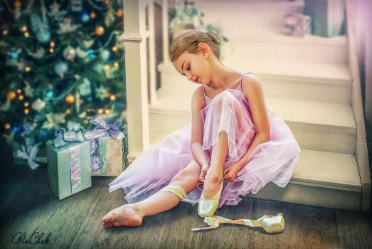 Young Ballerina by AliaChek
