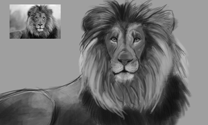 The Lion of Judah WIP by CalebP1716
