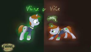 Virtue or Vice Fallout Equestria by AppleTarty
