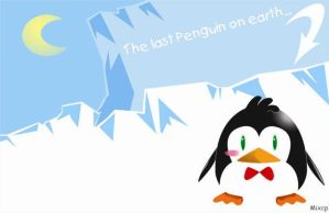 the last penguin on earth... by Mixcp