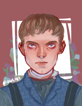 Victor Frankenstein (A 12 dollar commission) by owlivi