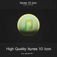 Itunes 10 Replacement Icon by mACrO-lOvE