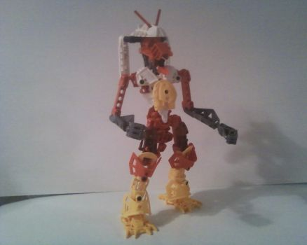 Bionicle Blaziken by LeaderZ