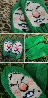 Tingle Mittens by kateknitsalot