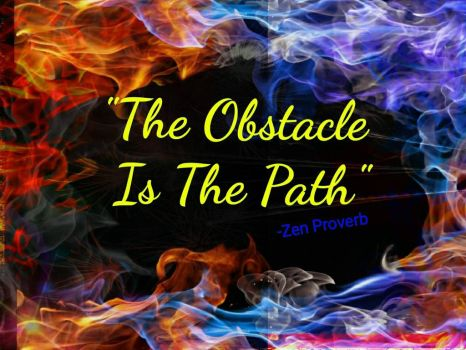 the Obstacle is the path by bunting917