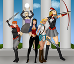 Ladies of Erfworld by LexiKimble